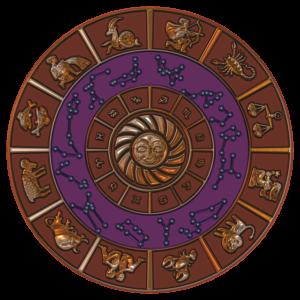 a zodiac wheel